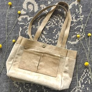 Lily and Lola Handbags Bags - Lily and Lola Jade Tan Leather Tote